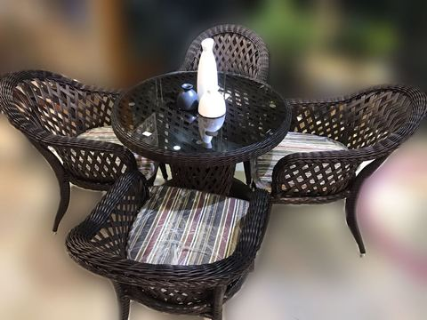 Garden Chair Set/5268