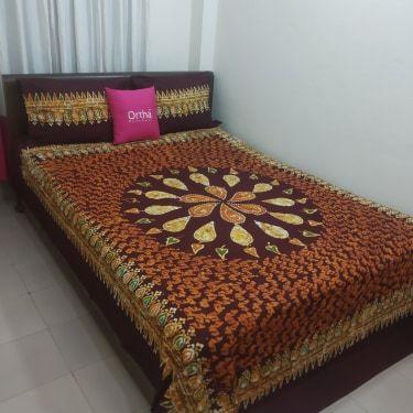 Mom-Batik Ortha Bedsheet - King Size
