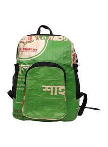 Rucksack Bag from Recycled Cement Sacks or Bags