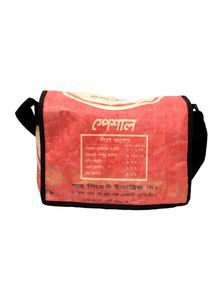 Courier Bag from Recycled Cement Sacks or Bags