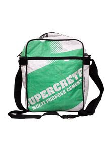 Messenger Bag from Recycled Cement Sacks or Bags