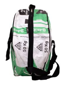 Gym Bag from Recycled Cement Sacks or Bags