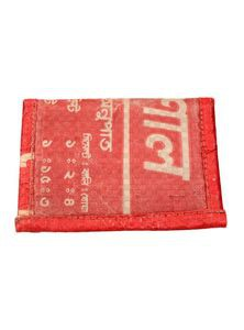 Card Holder from Recycled Cement Sacks or Bags