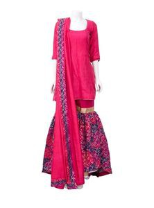 Katan Salwar Kameez Set For Women