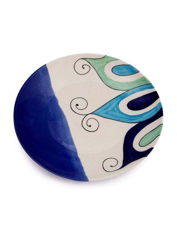 Clay Ceramic Plate