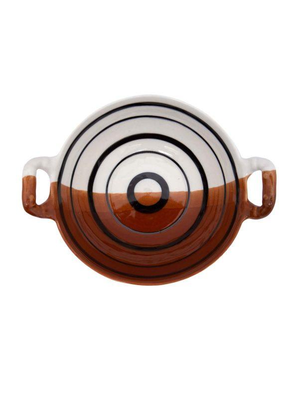 Clay Ceramic Korai with Handle