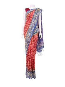 Vegetable Dyed Saree for Women