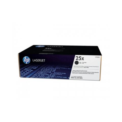HP 25X High Yield Black Original LaserJet Toner (CF325X)
