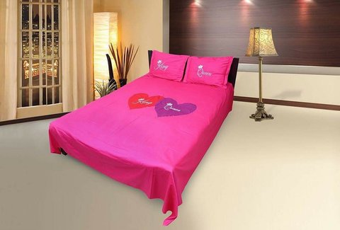 King Queen Ortha Bed Sheet - King Size