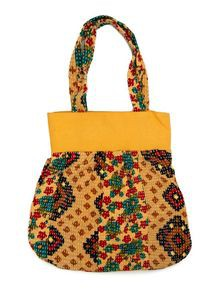 Cotton Nakshi Kantha Bag For Women