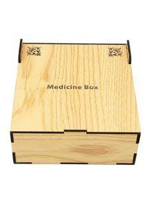 Wooden Medicine Box