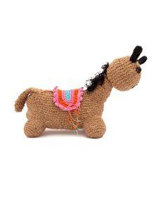 Jute Stuffed Horse