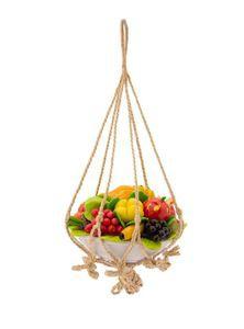 Jute Fruits Basket Hanger