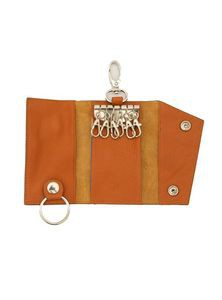 Leather Pocket Key Ring Bag