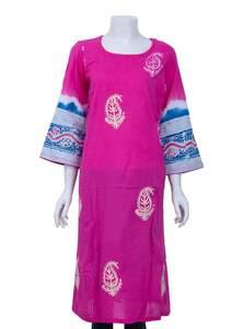 Cotton Kameez With Dopatta For Women