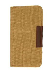 Jute & Leather Mobile Purse