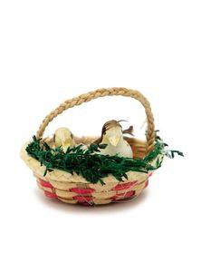 Bamboo & Jute Bird's Nest