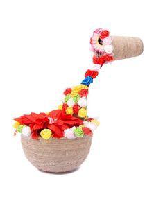 Jute Flower Basket