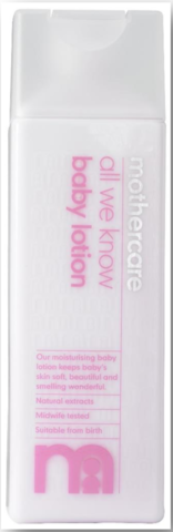 Mothercare Baby Lotion