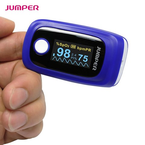 Pulse Oximeter Blood Oxygen Saturation JPD-500F Oximetro de dedo Monitor for IOS Android