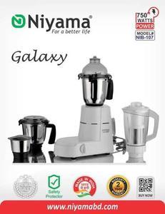 Niyama 750W NIB - 107 Mixer Grinder