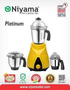 Niyama 550 Watt NIB - 109 Mixer Grinder