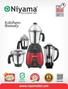 Niyama 750 Watt NIB - 111 Mixer Grinder