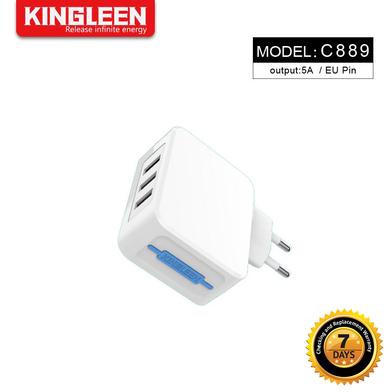 Kingleen - 3 USB charger C889 2pin