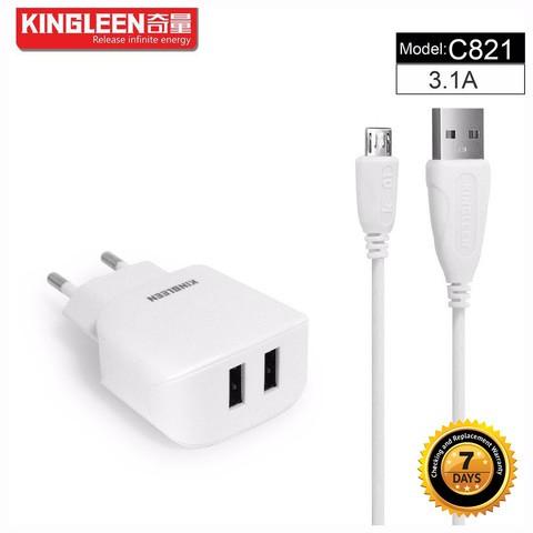 Kingleen - Universal Charger 2 input C821