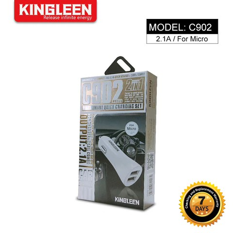 Kingleen - 2 input Universal car Charger C902