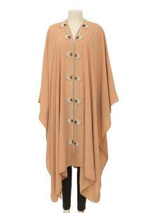 Square Scarf Cape for Elegant Muslim Women