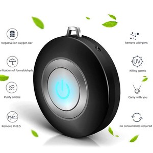 Lovebitebd USB Portable Wearable Air Purifier