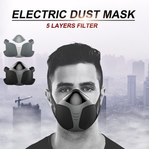 Lovebitebd Intelligent Electric Dust Mask Anti-Fog Pm2.5