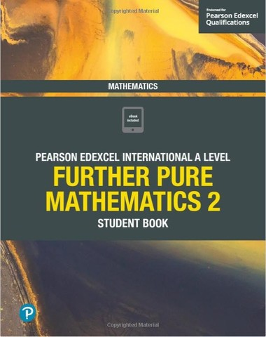 Pearson Edexcel International A Level Further Pure Mathematics 2 Black & White