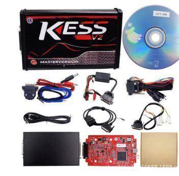 kess v2 5.017 OBD2 ECU no token programming tool unlimited high-quality red version