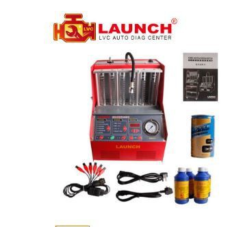 LAUNCH CNC602A Fule injector, Yuanzheng injector cleaning machine English version