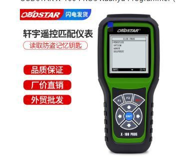 OBDSTAR X-100 PROS Xuanyu Programmer (C+D+E) anti-theft remote control matching + instrument