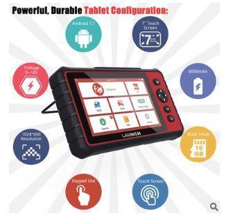 LAUNCH CRP909E car fault decoder diagnostic instrument overseas multilingual version