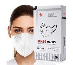 McCons KN95 5 Layer Face Mask 1 box(10PCs)