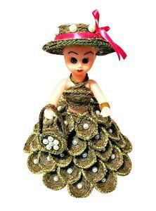 Jute Barbie Doll