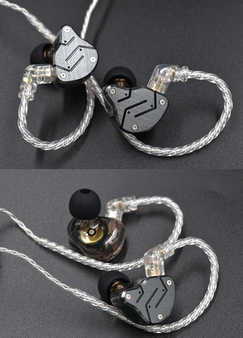 KZ Silver Plated Upgrade cable For ZSN, ZSN Pro and ZS10 Pro