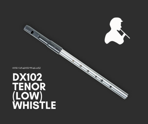 Tony Dixon Alloy Low G Tune-able Whistle
