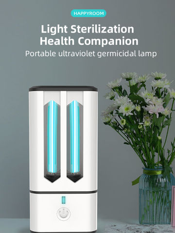 UV Rechargeable Disinfection Table Lamp