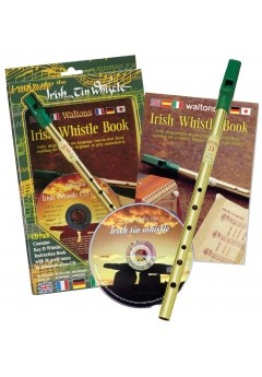 Waltons Tin Whistle CD Pack | Irish