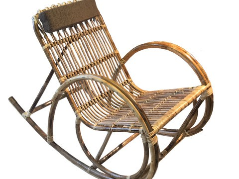 Cane Rocking Chair/N01