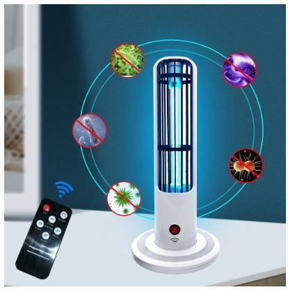 UVC ultraviolet sterilization lamp UV disinfection night light timer high ozone germicidal lighting remote Control