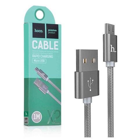 HOCO X2 RAPID CHARGING MICRO USB DATA CABLE