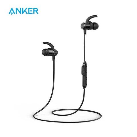 Anker SoundBuds Slim Wireless Earphones Lightweight Bluetooth
