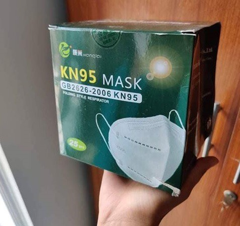 Kanglai KN95 PM2.5 5 Layer Mask 25pcs Pack