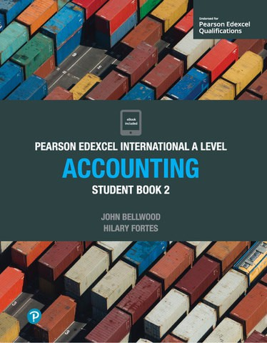 Edexcel International A Level Accounting 2 Student Book